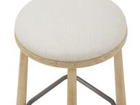 Booty oak kitchen stool top