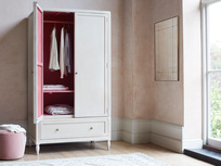 Grand Pimpernel narrow wardrobe with drawers