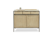 Servery oak sideboard front with prop