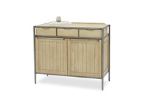 Servery oak sideboard with prop