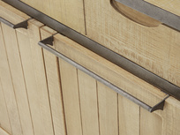 Super servery shelf handle detail