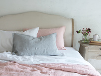 Beautiful Belgian Lazy Linen bedding