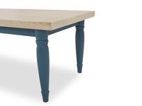 Scullery kitchen dining table leg detail