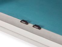 Grand popinjay compact wardrobe inside detail