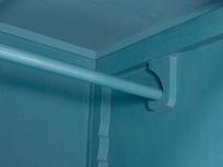 Grand popinjay narrow wardrobe inside detail