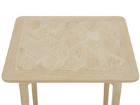 Blaise parquet bedside table