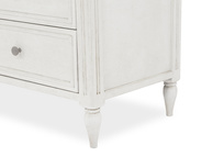 Pimpernel chest of drawers leg detail