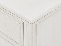 Pimpernel chest of drawers corner detail