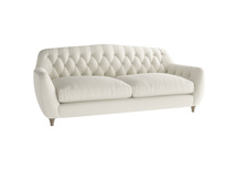 Large Butterbump Sofa in Oat brushed cotton