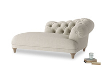 Right Hand Fats Chaise Longue in Thatch house fabric