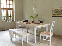 Hobnob kitchen chairs with Scullery kitchen table