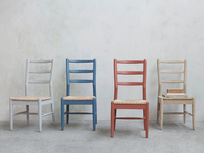 Hobnob coloured dining chairs