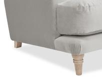 Sugar Bum love seat sofa leg detail