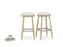 Pair of Booty Kitchen Stools