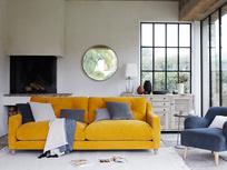 Slim Jim corduroy fabric squishy sofa