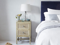 Little Willow wooden bedside table