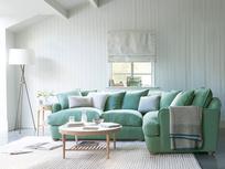 Smooch Large Fabric Scatter Cushion Back Corner Sofa