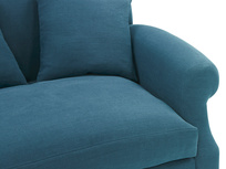 Crumpet Love Seat Sofa Bed Seat detail