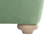 Smooch LA Cushion Back Deep Corner Sofa front leg detail