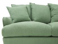 Smooch LA Cushion Back Deep Corner Sofa front seat detail
