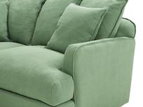 Smooch LA Cushion Back Deep Corner Sofa corner arm detail