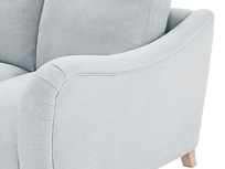 Bumpster Deep LA Corner L Shaped Sofa arm detail