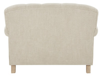 Truffle Chesterfield Love Seat Chaise Sofa Snuggler reverse