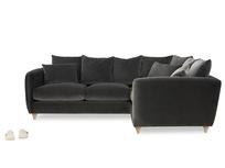 Podge LA Large Modern Corner Sofa front