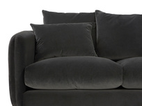Podge LA Modern L Shaped Corner Sofa front detail