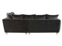 Podge LA Modern L Shaped Corner Sofa back