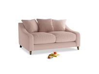 Small Oscar Sofa in Dried Plaster Clever Velvet