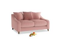 Small Oscar Sofa in Vintage Pink Clever Velvet