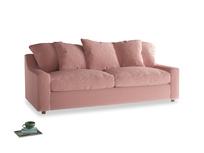 Large Cloud Sofa in Vintage Pink Clever Velvet