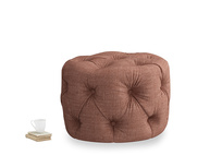 Gumdrop in Dried Rose Clever Laundered Linen