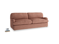 Large Jonesy Sofa Bed in Dried Rose Clever Laundered Linen