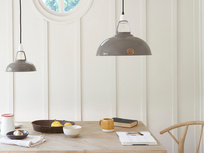 Coolicon® The Original 1933 light shade pendant in Grey