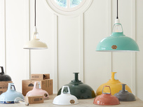Coolicon® The Original pendant light shade 1933 in Terracotta