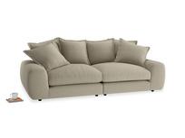 Medium Wodge Modular Sofa in Jute vintage linen