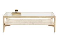 Keepsake wood coffee table