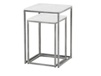 Dusty nesting side tables
