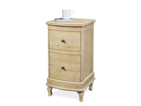 Bastille bedside table In Weathered Oak bedside table