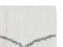 Casbah handmade bedside rug in Natural