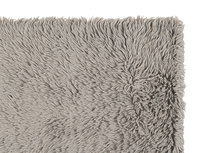 Wilder handmade bedside rug in Grey