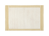 Loom handmade rug in Burnt Yellow