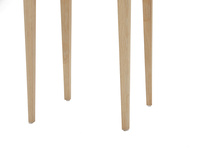 Plink side table leg detail