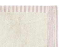 Loom squishy modern rug in Dusty Pink