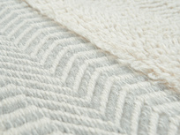 Loom modern rug in Mouse Grey