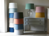 Flute table lamps range