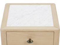 Plink side table marble top detail