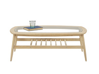 Wood Turner modern coffee table